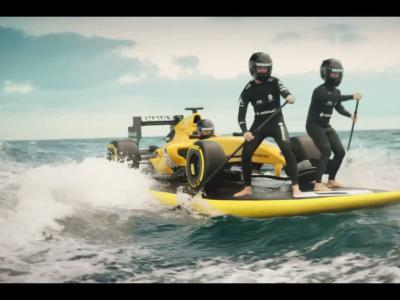 Renault surfe à nouveau sur la vague de la Formule 1