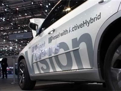 Reportage BMW Vision EfficientDynamics
