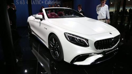 Francfort 2017 : Mercedes Classe S Cabriolet