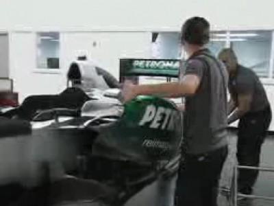 Travailler en F1 grâce à Mercedes