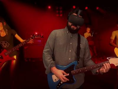 Rock Band VR : trailer du jeu exclusif à l'Occulus Rift (VO)