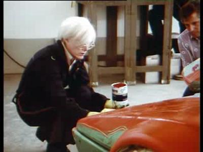 BMW M1 par Andy Warhol