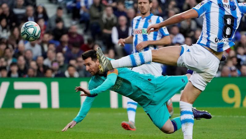 Liga : La Real Sociedad piège le FC Barcelone