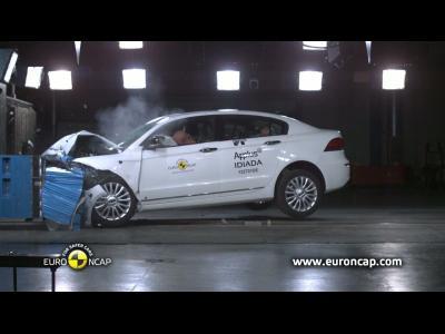 La Qoros 3 berline obtient 5 étoiles au crash-test EuroNcap