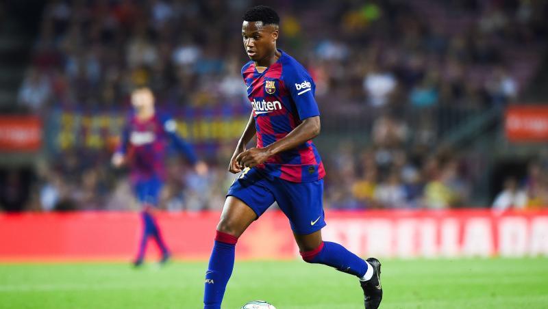FC Barcelone : la saison 2019 / 2020 d'Ansu Fati en chiffres