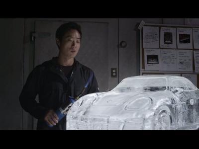 La Porsche Panamera n'est que feu et glace