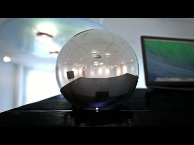 LaCie Sphère, le disque dur vu par Christofle