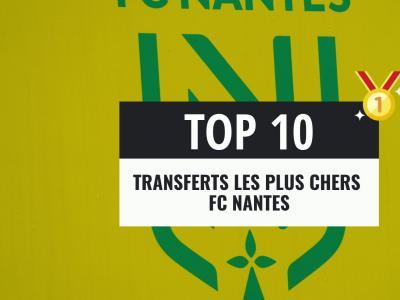 FC Nantes : les transferts les plus chers