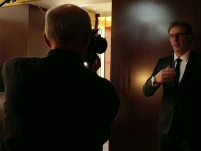 Dans les coulisses du Shooting de Laurent Blanc