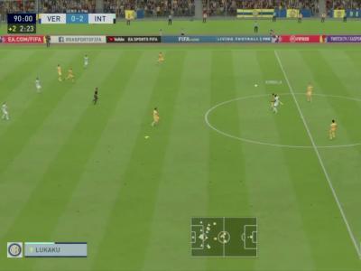 Chievo Vérone - Inter Milan sur FIFA 20 : résumé et buts (Serie A - 31e journée)
