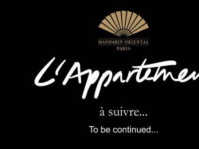 L'Appartement Parisien du Mandarin Oriental Paris : découverte de la nouvelle suite, épisode 2