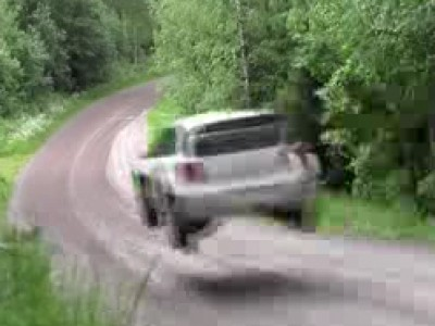 Volkswagen test la Polo WRC en Finlande