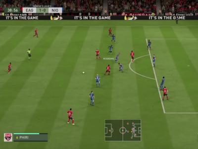 En Avant Guingamp - Chamois Niortais FC sur FIFA 20 : résumé et buts (L2 - 29e journée)