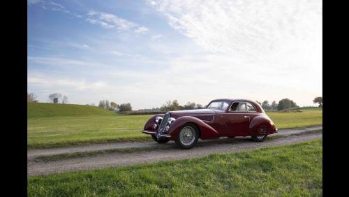 Rétromobile 2019 : vente Artcurial l'Alfa Romeo 8C 2900 B en vidéo