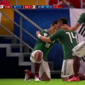 Corée du Sud - Mexique : notre simulation sur FIFA 18