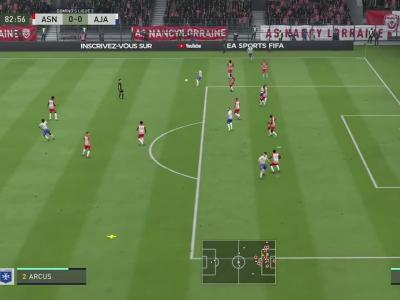 AS Nancy-Lorraine - AJ Auxerre : notre simulation FIFA 20 (L2 - 37e journée)
