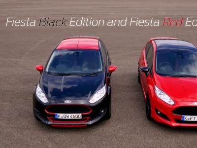 La Ford Fiesta Red Edition de 140 ch en vidéo