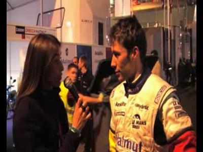 24H du mans - Interview Loic Duval - Oreca Matmut
