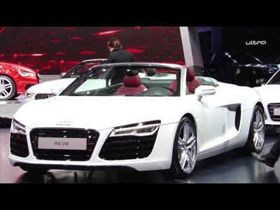 Audi R8 restylée - Mondial 2012