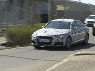 La prochaine génération d'Audi A4 capturée en vidéo