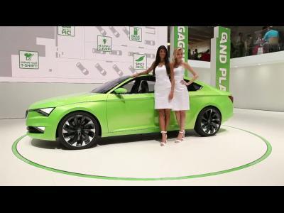Genève 2014 : Skoda VisionC Concept