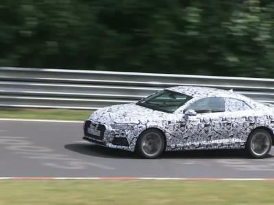 Les futures Audi A5 et S5 de passage sur le Nürburgring