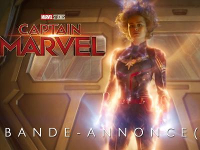 Captain Marvel : la bande-annonce en VF