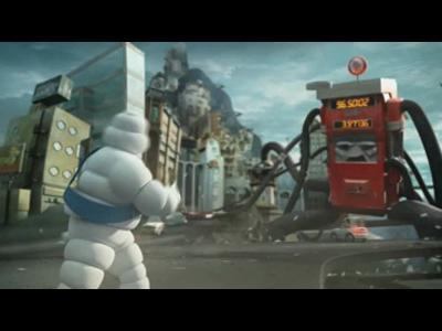 Campagne de publicité Michelin