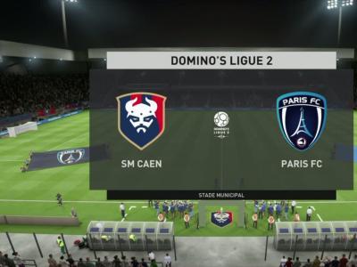 FIFA 20 : notre simulation de Stade Malherbe de Caen - Paris FC (L2 - 30e journée)