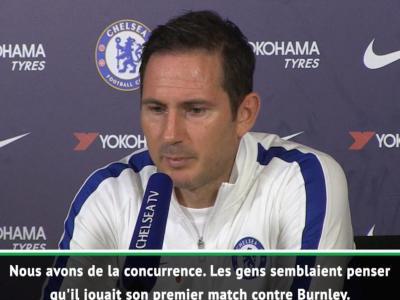 11e j . - Lampard évoque la bonne passe de Pulisic