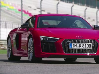 Essai nouvelle Audi R8