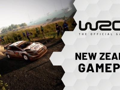 WRC 9 : le rallye de Nouvelle-Zélande en vidéo