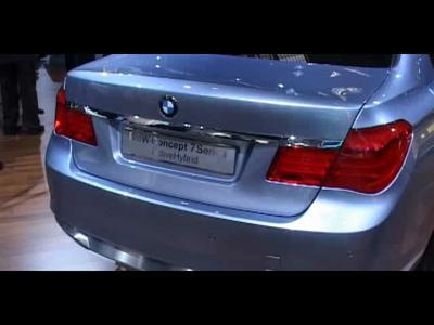 Reportage BMW série7 ActiveHybrid
