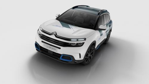 Citroën C5 Aircross Hybrid : présentation du concept en vidéo