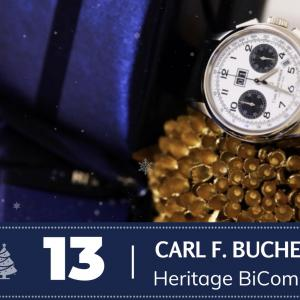 #13 Carl F. Bucherer Heritage BiCompax Annual