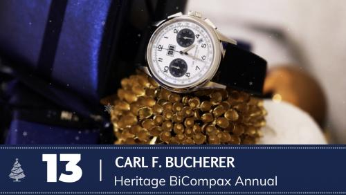 #13 Carl F. Bucherer Heritage BiCompax Annual