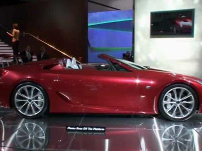 Reportage Lexus LF-A Roadster Concept