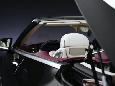 La Mercedes Classe S Cabriolet restylée se montre avant Francfort