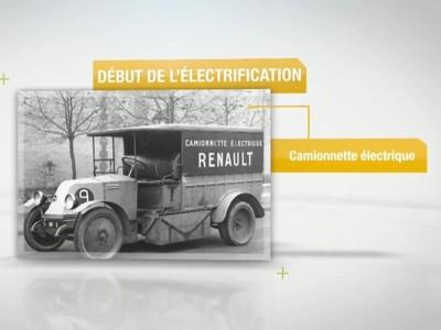 115 ans d'innovations chez Renault, ça se montre