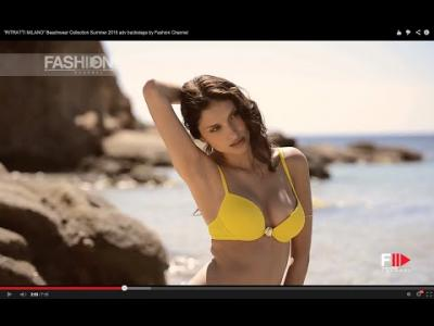 """RITRATTI MILANO"" Beachwear Collection Summer 2015 adv backstage by Fashion Channel"