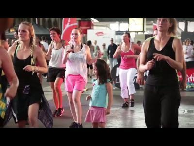 Reebok mixe l'aérobic, la danse et le yoga