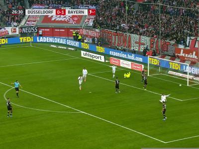Bundesliga : Le Bayern balaie le Fortuna Düsseldorf !