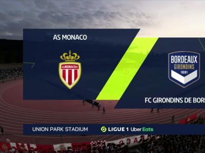 AS Monaco - Bordeaux : notre simulation FIFA 21 (L1 - 9e journée)