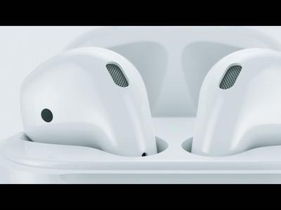AirPods : vidéo officielle des écouteurs bluetooth d'Apple