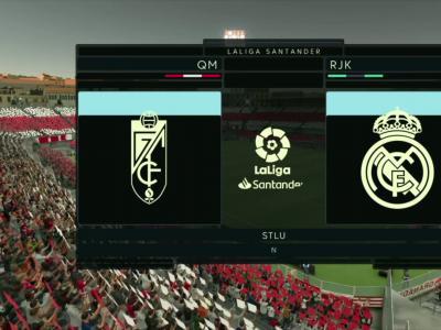 Grenade CF - Real Madrid sur FIFA 20 : résumé et buts (Liga - 36e journée)