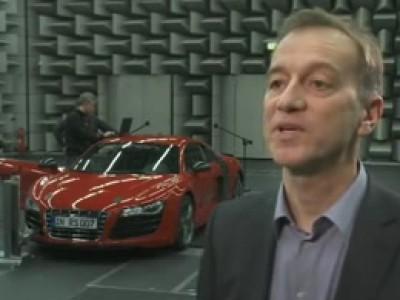 A la recherche d'un son artificiel pour l'Audi R8 e-Tron