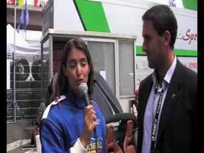 24h du Mans - Margot Laffite découvre la Tesla
