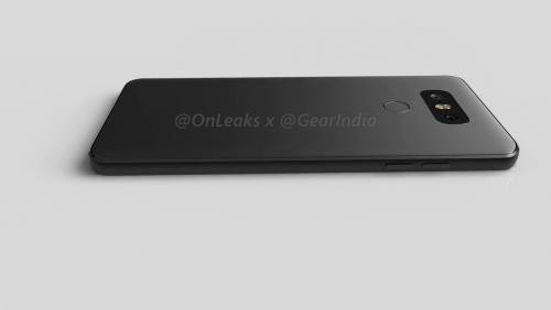 LG G6 : vidéo d'un rendu 3D du smartphone par @OnLeaks et Gear India