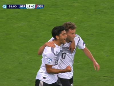 Euro Espoirs : L'Allemagne triomphe face au Danemark (vidéo)