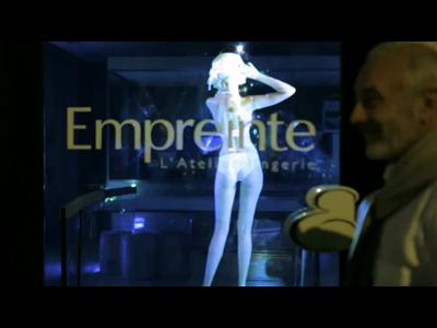 Empreinte réinvente le show lingerie